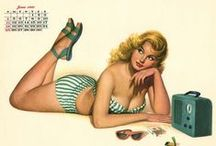 Pin-up`s best of Al Moore / Pin-up`s made by Al Moore. Al Moore's breakthrough assignment was being chosen by Esquire to replace Alberto Vargas, the most popular pin-up artist of the day.