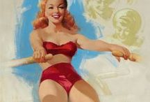 Pin-up`s best of Ted Withers / Pin-up`s made by Ted Withers d.1964 When Withers began painting pinups for Brown & Bigelow in 1950, he had already spent twenty-five years working in the Hollywood film industry.