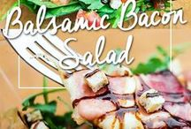 Raise the Bar: Seasonal Salads / Seasonal salads make for great sides for your BBQs or gatherings this grilling season. Take them to the next level with Bar-S meats!