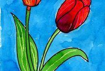 tekenen voorjaar