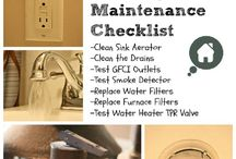 Home Maintenance&DIY Projects / Around the house fixes, home diy, how to / by Nicole Malonson