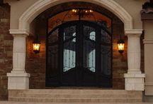 Home Design/Front Doors / Front doors, entry doors, exterior doors / by Nicole Malonson