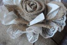 fleur tissu, papier,...