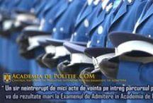Academia de Politie / Examen Admitere Academia de Politie