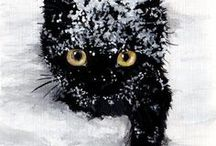 Snowdrifts: Winter Poetry & Art / Winter & Christmas imagery coupled with winter poetry by Michael McClintock.  Repins welcome.