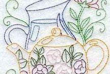 el işi işlemeler (hand embroidery) / el işi işlemeler