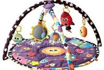 Activity Mats for Babies / Activity Mats for Babies.  I love these colourful Activity Mats  for babies. Also known as plays gyms they keep a baby stimulated with colours, games, textures and music. These activity mats are also entertaining and and fun for babies and parents alike, while also being educational and encouraging healthy development.