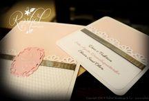 Partecipazioni, inviti e coordinati / Wedding invitations - partecipazioni di nozze
