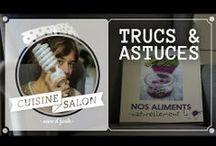 Cuisine De Salon | Trucs & astuces / Des astuces faciles, rapides et jamais très couteuses pour rendre la cuisine maligne !