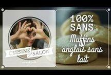 Cuisine De Salon | 100% sans / Pour les allergiques, les intolérants, les difficiles, ou les curieux, le mardi, on vous propose des recettes qui oublient un ingrédient dont on se passe difficilement d'habitude !