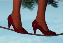 Sul filo del Tempo / Fotoshooting ispirato all'evoluzione del design della calzatura     Set, Cocstume, Ph: Katia Pepe & Marco Giunti