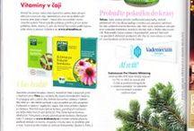 Fitne PRINT/ONLINE 2013/2014 / PR kampaň německé značky léčivé biokosmetiky a doplňků stravy Fitne
