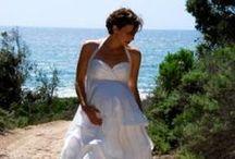 Robe De Mariée Enceinte / Robe De Mariée