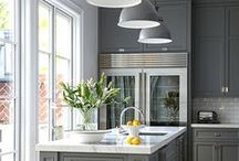 The Heart of the Home / Home kitchen designs.