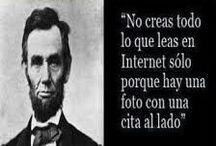 . Quotations / Frases celebres