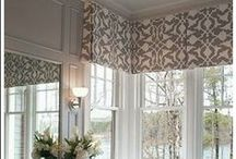 All About Those Window Treatments! / Jazzing up a window in uniquely beautiful ways.