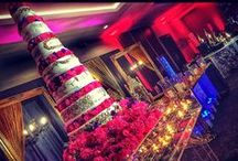 Majestic 'Indian Gatsby' - Wedding Stage Decor & Theme / Asian Wedding Stage Decor - The Majestic 'Indian Gatsby Collection'