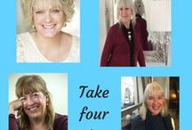 Take Four Writers / Follow four writers in Jane Cable's column at Frost magazine.