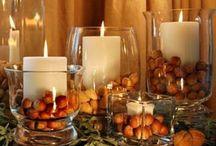 Thanksgiving/Fall decor / by Tina