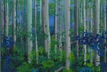 Art I paint... / Love to paint with acrylic in fabulous colors, for pleasure or interior design projects.