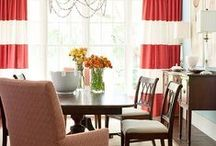 Delicious Dining Rooms / Dining rooms for today's families are fun and inviting.  They have become the new multi-purpose room not the barely used rooms of the past.  / by Decor Girl - Lisa M. Smith - Interior Design Factory, Ltd.