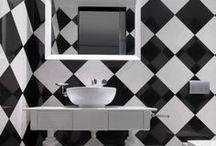 Black & White / by Decor Girl - Lisa M. Smith - Interior Design Factory, Ltd.