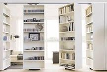 Cabinetry & Bookshelves / Details from cabinets and bookshelves to inspire.  / by Decor Girl - Lisa M. Smith - Interior Design Factory, Ltd.