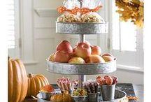 Fall decorating / by Tasha Purvis