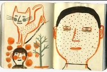 SKETCH BOOKS / by Kamijn .