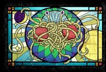 Pastafarianism / My God... My religion! ;)  / by Moreno Tiziani