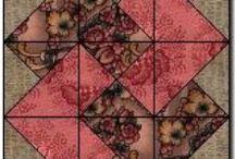 BLOQUES / Técnica de quilt / by Rosibel Flores Solera