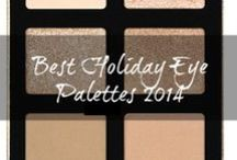 Best Holiday Eyeshadow Palettes 2014 / From nude looks to smokey eyes, from neutrals to vivid shades, these eyeshadow palettes can help you create endless looks, no matter what your eye color, complexion and skin tone!