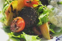 Black Pudding | Salads / Recipes & ideas for Black Pudding Salads