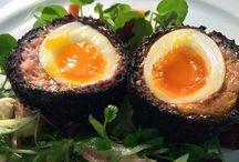 Black Pudding | Scotch Eggs / Scotch Egg recipes using Black Pudding
