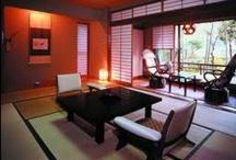 Japanese interiors / by Louise Moorman Custom Art