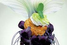 Lenôtre - Inspirations végétales  / Graphisme culinaire inspiré par la Nature #saveurs #cocktails #traiteur #macarons #picnic