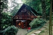 My Obsession with: Cabins / The dreamed-for artist-in-residence cabins...