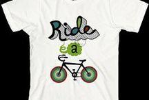 #Bike #T-shirt  / La passione delle #bici sulle #magliette - The passion of #bike on #T-shirts / by Cyclopride
