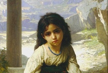 William Adolphe Bouguereau / Bouguereau and other similar portrait painters