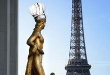 Lenôtre - Toques parisiennes / Elles habillent Paris, les toques Lenôtre ! Les avez-vous vues ? #Street-art  #Paris