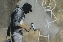 @Art in the Streets! / Public STREET ART! Paintings, urban graffiti, yarn bombs, street installation!  / by @ annette ☀️ :))) !!!