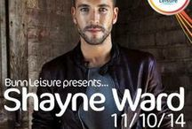 Shayne Ward 2014  / X Factor Winner and platinum selling artist Shayne Ward has been confirmed as 1 of the many star acts to perform LIVE at Bunn Leisure, Selsey, West Sussex.   To book your #WardWeekender break call 01243 606080 or head to www.BunnLeisure.co.uk