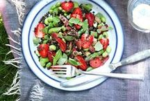 lunch ideas / Easy gluten free, dairy free, and vegan recipes for lunches to make ahead for work, school, or on-the-go!