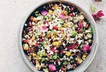 salads recipes / Healthy, easy salad recipes featuring lots of greens!