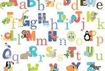 Alphabet Nursery Ideas