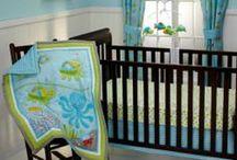 Ocean Themed Baby's Room