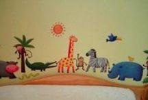 Nursery Murals and Decals