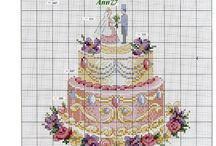 Patisserie Cross Stitch Charts