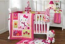 Hello Kitty Nursery Decor Ideas / Everything Hello Kitty for your baby girl's room.