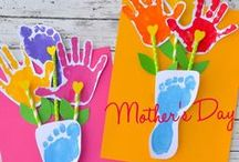 Mother's Day Gift Ideas / Great Mother's day gift ideas including fun crafts and gifts for mom by kids.
